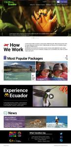 Travelling Ecuador