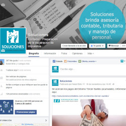 Facebook de Soluciones